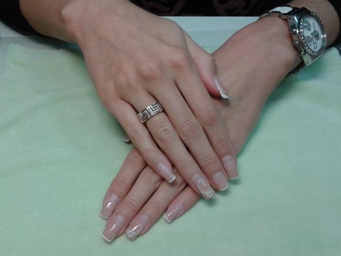 Фото ногти 1мм свои
