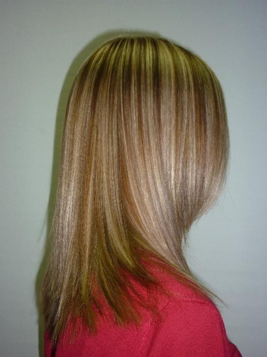 Как сделать мелирование если волосы обесцвечены