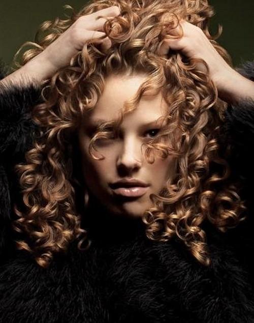 спиральная укладка волос